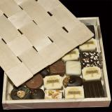 Chocolate box with lid