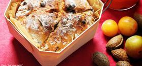 Bread with rice milk and chocolate muesli